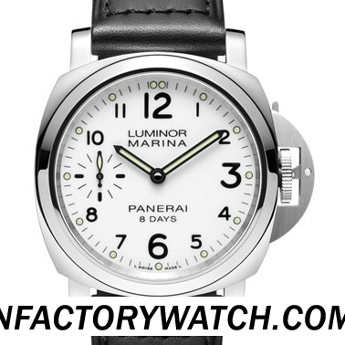 一比一 Panerai 沛纳海 LUMINOR MARINA 8 DAYS ACCIAIO Pam00563/Pam563 - Noob完美版