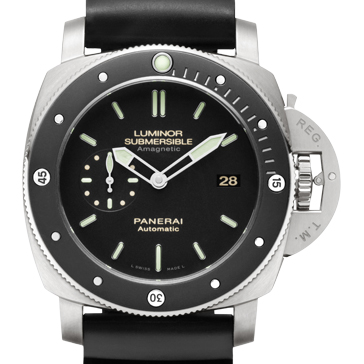 一比一 Panerai 沛纳海 LUMINOR SUBMERSIBLE 1950 AMAGNETIC 3 DAYS AUTOMATIC TITANIO Pam00389/Pam389 - Noob完美版