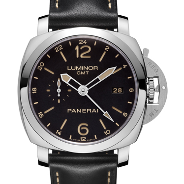 一比一 Panerai 沛纳海 LUMINOR 1950 3 DAYS GMT 24H AUTOMATIC ACCIAIO PAM00531/PAM531 - Noob完美版