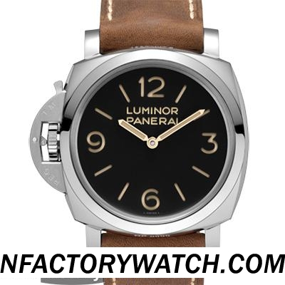 一比一 Panerai 沛纳海 LUMINOR 1950 LEFT-HANDED 3 DAYS ACCIAIO PAM00557/Pam557 - Noob完美版