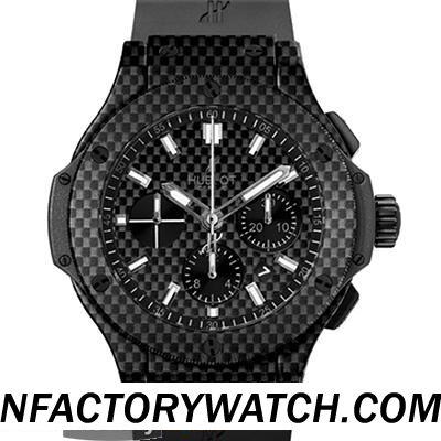 一比一 Hublot 宇舶 Big Bang 大爆炸 301.QX.1724.RX All Carbon Fiber 全碳纤维 - Noob完美版
