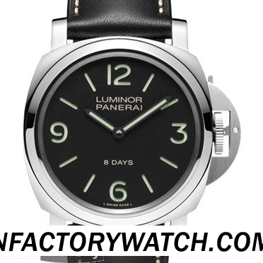 一比一 Panerai 沛纳海 LUMINOR BASE 8 DAYS ACCIAIO PAM00560 PAM560 - Noob完美版